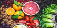 اي المواد الغذائيه تصنعها البكتيريا في الامعاء الغليظة ؟