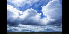من خصائص الغيوم الركامية أنها