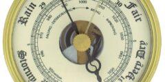 يستعمل البارومتر لقياس