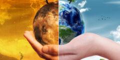 اثر الزيادة السكانية على المناخ وما علاقتها بغاز ثاني اكسيد الكربون؟