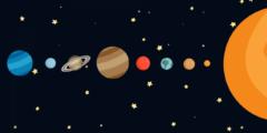 أكبر كواكب المجموعة الشمسية مكونه من 7 حروف