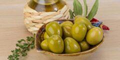 طريقة كبس الزيتون الأخضر على الطريقة الفلسطينية