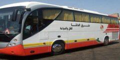 مواعيد أتوبيسات شرق الدلتا من القاهرة إلى نويبع
