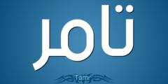 معنى اسم تامر ودلائل وصفات حامل الاسم