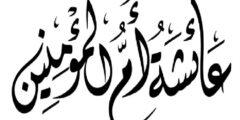 بحث عن السيدة عائشة ونسبها وزواجها وصفاتها وألقابها
