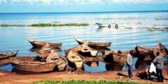 بحيرة أفريقية من منابع النيل