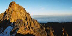 أين يقع جبل كينيا