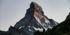 مراحل تشكل جبال الألب