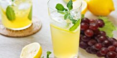 طريقة عمل عصير الليمون المنعش