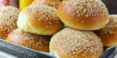 طريقة عمل خبز البرجر