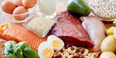 جدول نظام غذائي لبناء العضلات وزيادة الوزن