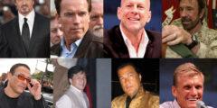 اشهر الممثلين الامريكيين المتخصصين في افلام الاكشن