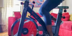 فوائد الدراجة الثابتة للبطن