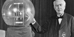 متى استخدمت مصابيح الإضاءة لأول مرة