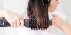 طريقة تجفيف الشعر المبلل بسرعه